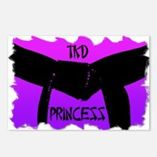 Martial Arts TKD Princess Postcards (Package of 8)