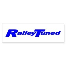 Rally Tuned Bumper Car Sticker
