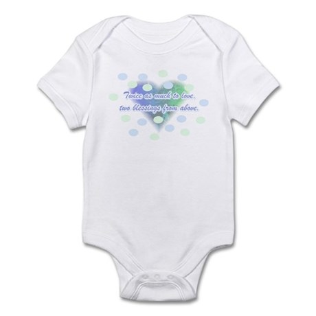 Twice as much to love... Infant Bodysuit