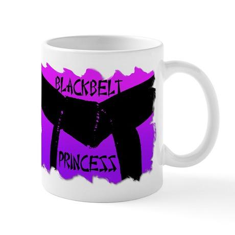 Martial Arts Black Belt Princess Mug