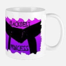 Martial Arts Black Belt Princess Mug