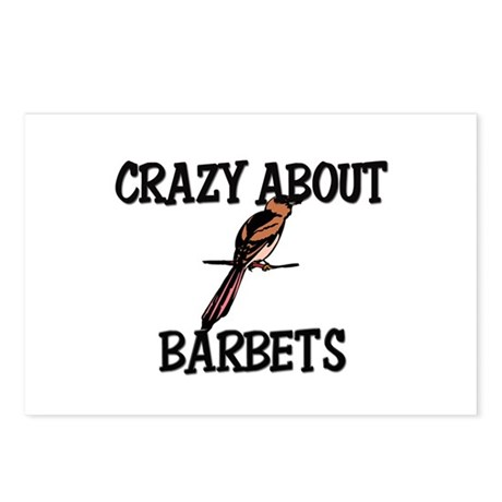 Crazy About Barbets Postcards (Package of 8)