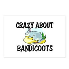 Crazy About Bandicoots Postcards (Package of 8)