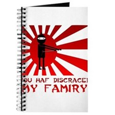 You Haf Discraced My Famiry Journal