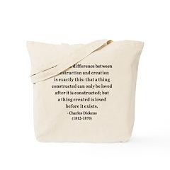 Charles Dickens 21 Tote Bag