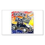 Smokin' Joe Rectangle Sticker 50 pk)
