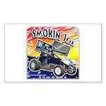Smokin' Joe Rectangle Sticker 10 pk)