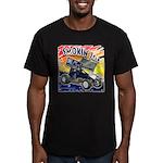 Smokin' Joe Men's Fitted T-Shirt (dark)
