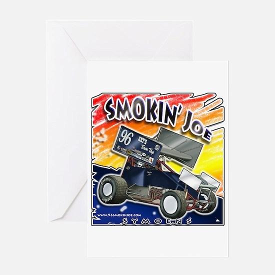 Smokin' Joe Greeting Card