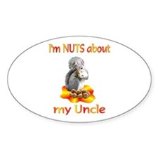Uncle Oval Decal