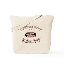 Bacon University Tote Bag