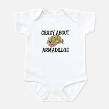Crazy About Armadillos Infant Bodysuit