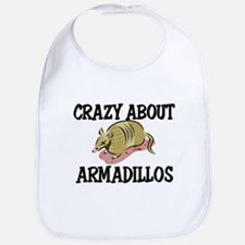 Crazy About Armadillos Bib