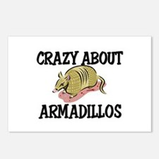 Crazy About Armadillos Postcards (Package of 8)