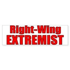 Right-Wing Bumper Bumper Sticker