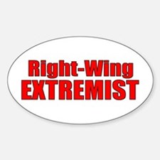 Right-Wing Oval Decal