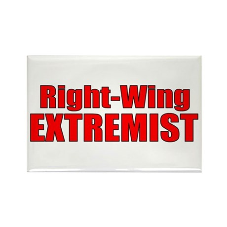 Right-Wing Rectangle Magnet