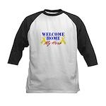 Welcome Home My Hero Kids Baseball Jersey