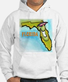 Unique Map of florida Hoodie
