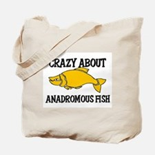 Crazy About Anadromous Fish Tote Bag