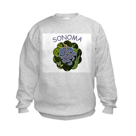 Sonoma Grapes - Kids Sweatshirt