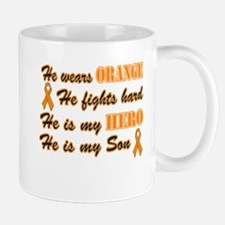 He is my Son Orange Hero Mug