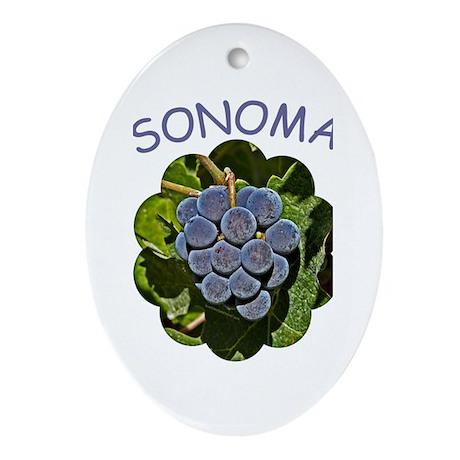 Sonoma - Gift Ornament/Keepsake Oval