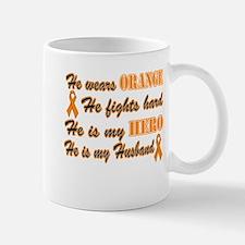 He is my Husband Orange Hero Mug