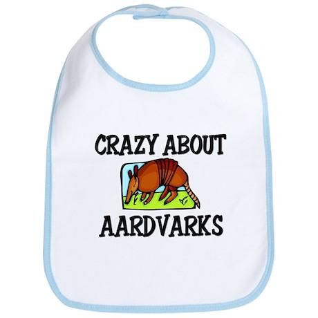 Crazy About Aardvarks Bib