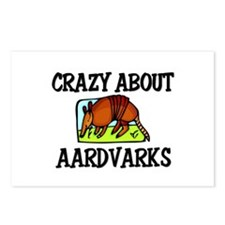 Crazy About Aardvarks Postcards (Package of 8)