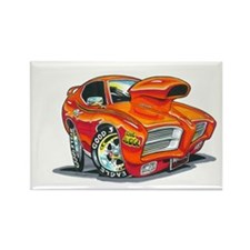 GTO Judge Rectangle Magnet