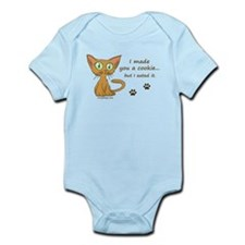 Cute Kitty Ate Your Cookie Infant Bodysuit