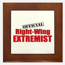 """Official"" Right-Wing Framed Tile"