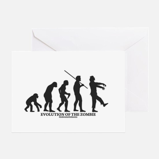 Evolution of the Zombie Greeting Card