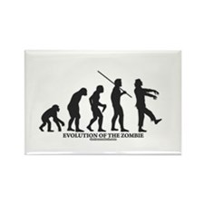 Evolution of the Zombie Rectangle Magnet