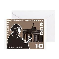 Nationale Volksarmee Greeting Cards (Pk of 10)
