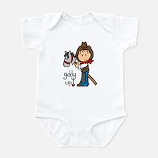 Giddy Up Cowboy Infant Bodysuit