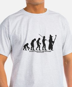 Evolution of the Wizard T-Shirt