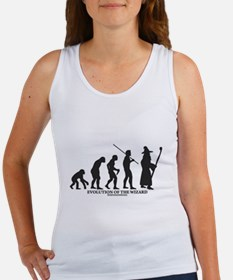 Evolution of the Wizard Women's Tank Top