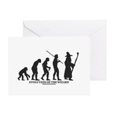 Evolution of the Wizard Greeting Card