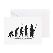 Evolution of the Wizard Greeting Cards (Pk of 20)