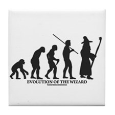 Evolution of the Wizard Tile Coaster