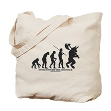 Evolution of the Minotaur Tote Bag
