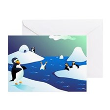 Penguin Party/Party Time! Greeting Cards (Package