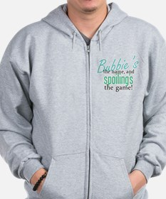 Bubbie's the Name! Zip Hoodie