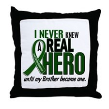 REAL HERO 2 Brother LiC Throw Pillow