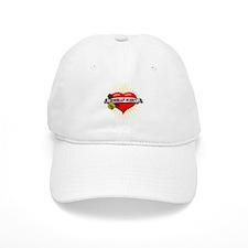Siberian Husky Heart Baseball Cap