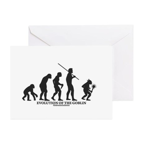 Evolution of the Goblin Greeting Cards (Pk of 10)