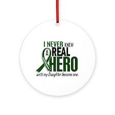 REAL HERO 2 Daughter LiC Ornament (Round)