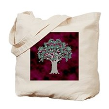 Orchard Tote Bag (Hearts/Red)